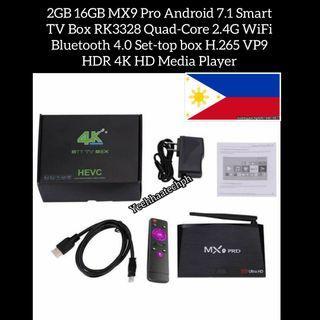 MX9 Pro Android 7.1 Smart tv box