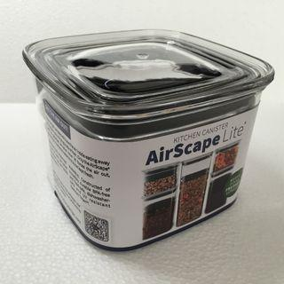 """AirScape Lite Small Kitchen Canister (4.5"""" Wide x 3.5"""" Tall)"""