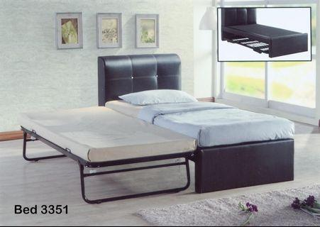 Pull out bed with Folding leg @ $238