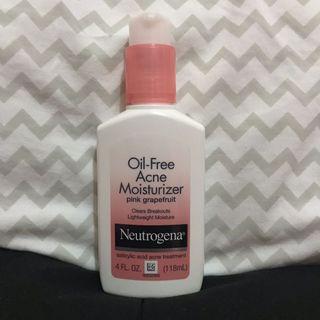 Neutrogena Oil-Free Acne Moisturizer (Pink Grapefruit)