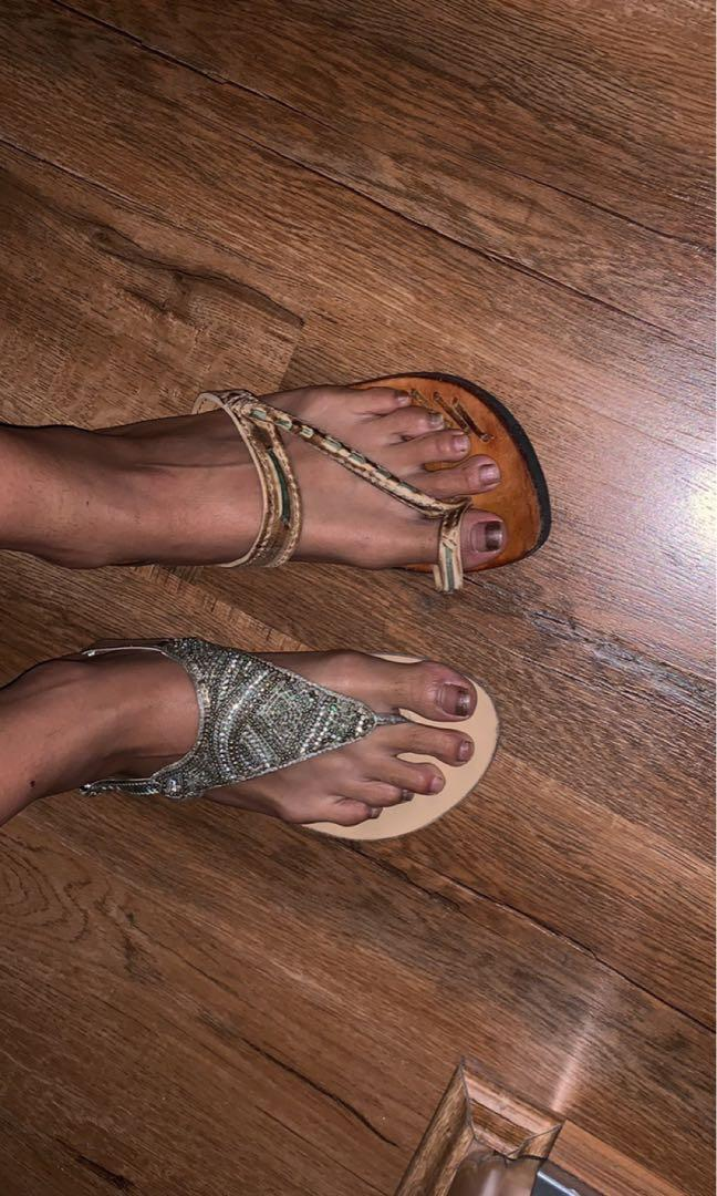 $20 PICK ANY OR ALL leather strap sandals from forever new