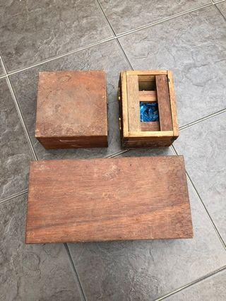 Vintage kayu DB elektrik