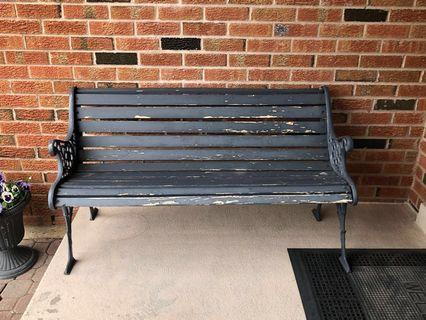🔥SALE🔥 Patio Bench (Grey)