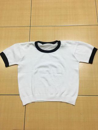 White top knit
