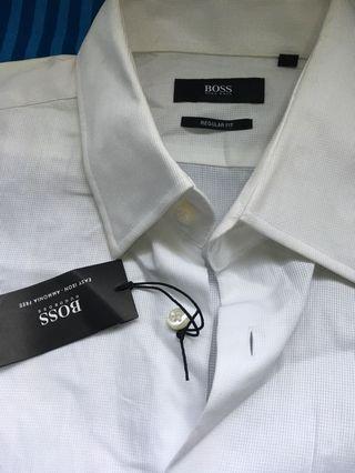 19b112333 Hugo Boss Boss Polo Shirt L, Fesyen Lelaki, Pakaian, Baju Lelaki di ...