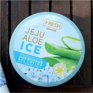 Authentic Jeju Aloe Ice skinlab