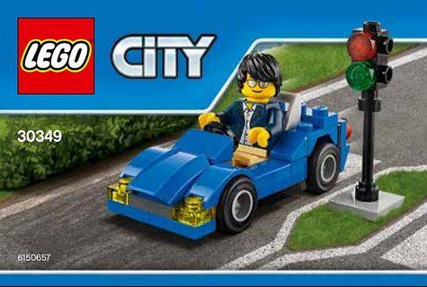 Lego 2016 City Traffic 30349 Sports Car Polybag