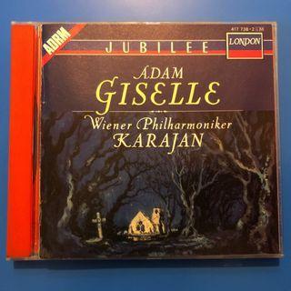 美國舊版銀圈 cd 古典 Karajan Adam Giselle