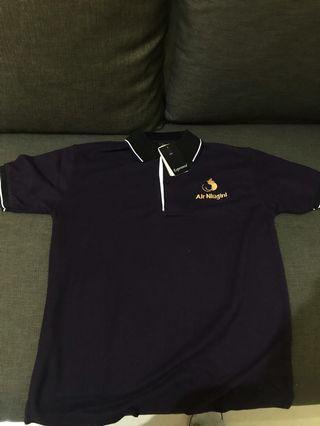 Air Niugini Polo Shirt Size L Merk Esperanza Asli PNG