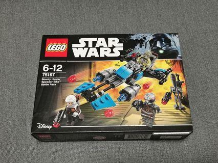 Star wars lego bounty hunter speeder bike battle pack
