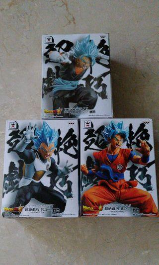 [BN] Dragonball Son Goku Vegeta Vegito Blue hair saiyan SUPER TRANSCENDENCE ART