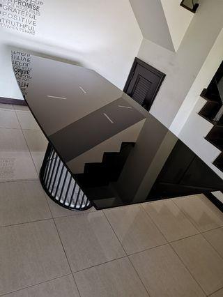 Glass Dining Table designer base