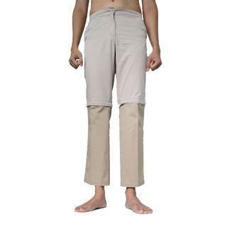 🚚 2-in-1 Beige Pants / Shorts! - #EndgameYourExcess