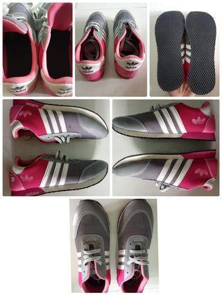 New Adidas Kets Spon Rip Abu Pink