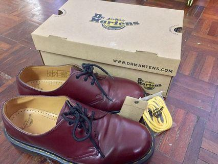 Dr Martens 3 Eye Cherry Red Rouge 8UK MIC