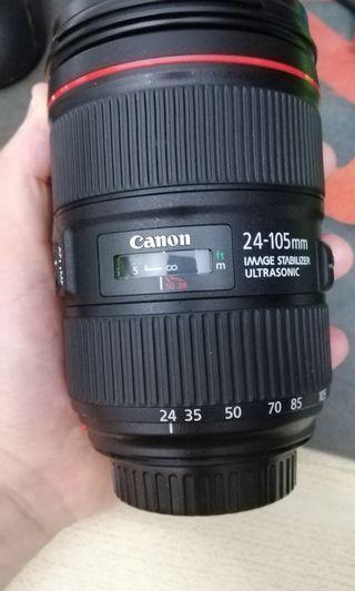 🚚 CANON 24-105mm USM II
