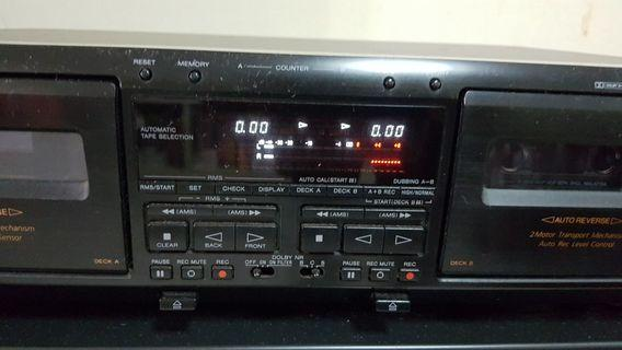 Stereo Double Cassette Deck TC-WE805S