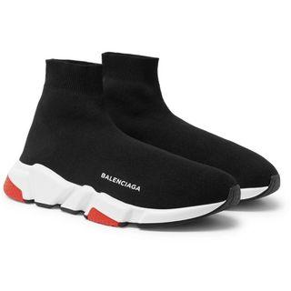 Balenciaga Speed Sock Trainers BLACK