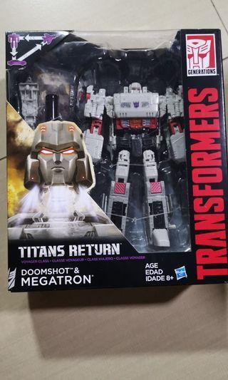 🚚 megatron titans return