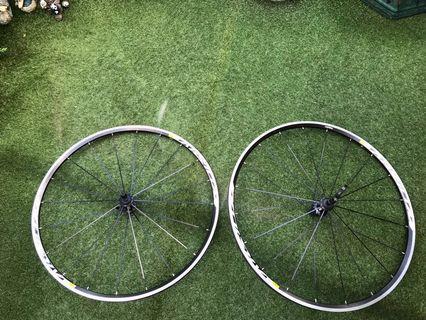 Mavic Aksium Elite Clincher Road Wheels  (Pair)
