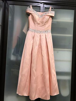 Bridesmaid Dress Peach colour