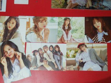 GFRIEND SEASON GREETINGS POSTCARDS