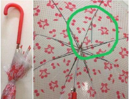 雨傘[傘骨有部份斷]