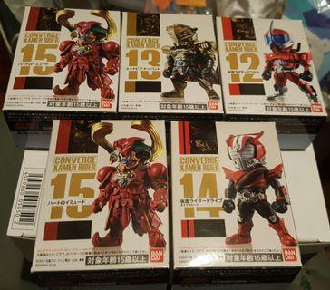 Converge Kamen Rider vol3 幪面超人 Drive W