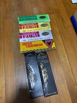 Izumi Track chains