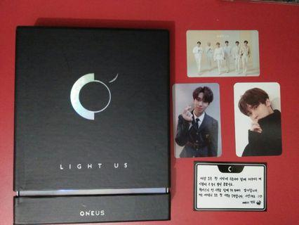 "ONEUS 1ST MINI ALBUM ""LIGHT US"""