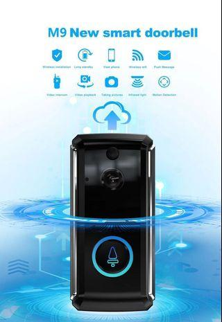Smart Wifi Wireless Doorbell Camera Door Viewer [Features:Ultra Low-Power & Long Standby, Built in Speaker-Two Way Audio, Motion Detection-Push Message, HD Ultra Wide Angle-Night Vision, Mobile APP:XSH Cam] 7-STAR* Doorbell Camera