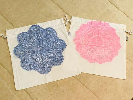 [NEW] Lumiere Art & Co drawstring bags