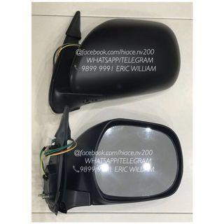 Toyota Hiace Replacement Rear Side Mirror Set (AUTOFold) / Hiace Accessories >>READY STOCKS!!