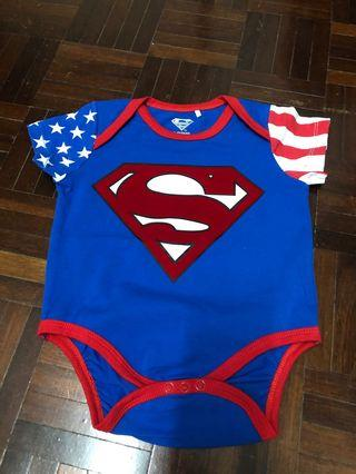 Superman baby romper