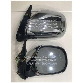 Toyota Hiace Replacement Rear Side Mirror (AUTOFOLD) / Hiace Accessories >>READY STOCKS!!