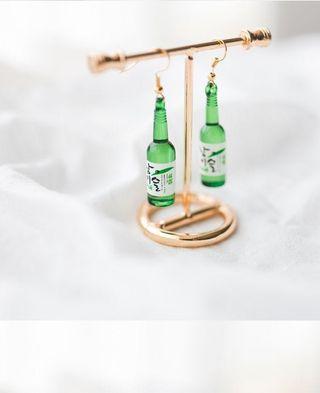 Soju Bottle Earrings