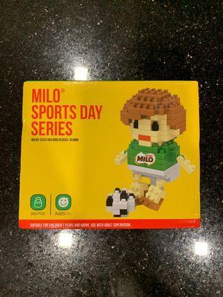 New! Milo Sports Day Series Nano Blocks (Soccer Boy)
