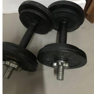 AIBI DumpBell / Weight 10kg x 2
