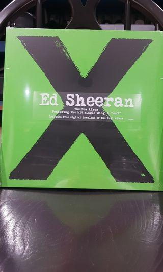 🚚 Ed Sheeran X vinyl record 2 LP
