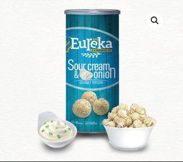 READY STOCKS | Eureka Gourmet Popcorn - Sour Cream & Onion 70g