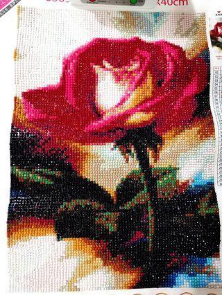 立體鑽石畫 玫瑰🌹