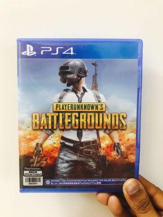 Players Unknown Battleground PS4