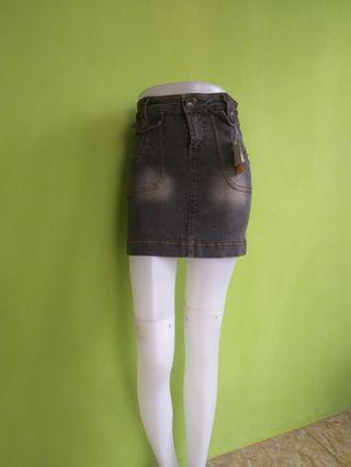 Rok Pendek Jeans Wash O'Net