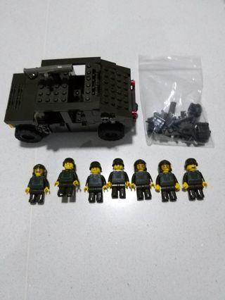 Humvee Oxford Bricks
