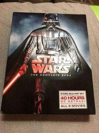 The complete saga - Star Wars bluray