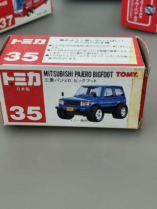 Tomica 車仔, Mitsubishi Pejero,  Made in Japan