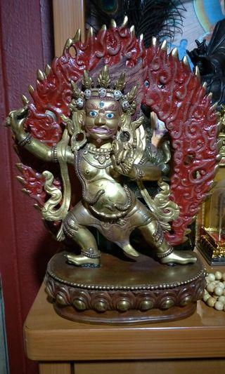 Tibetan Vajrapani statue