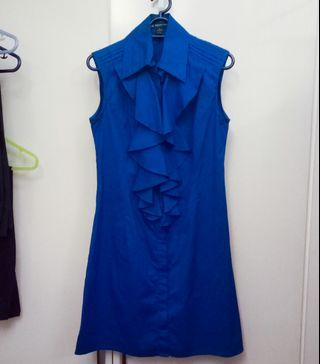 INC Royal Blue Dress