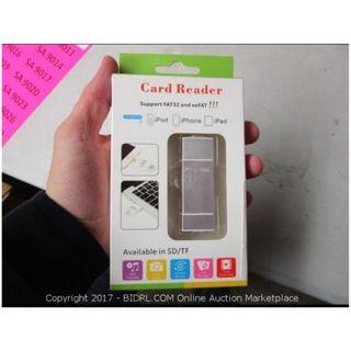 -1205- card reader  pink colur