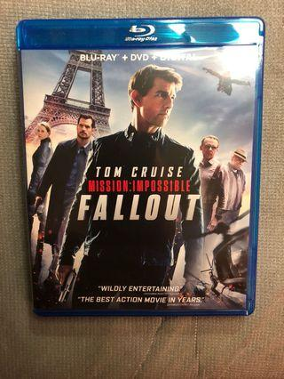 Mission impossible fallout Bluray